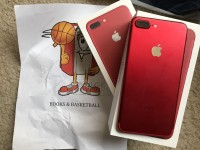 Apple iPhone 7 Plus (PRODUCT) Rood 256GB / Apple iPhone 7 Plus – 256GB – Matte Zwart